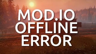 Fixing 'Failed to connect to mod.io' on PC