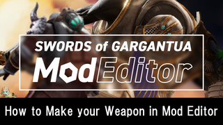 How to Make your Weapon in Mod Editor