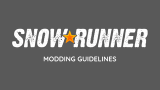 Modding guidelines for Snowrunner