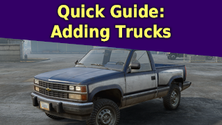 Quick Guide:  Adding Trucks