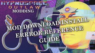 Mod Download/Install Errors