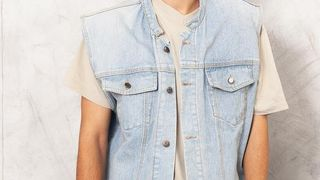 cutoff jean jacket pack