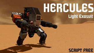 Hercules exosuit working