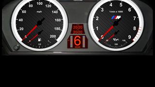 BMW E92 M3 GT4 Dash
