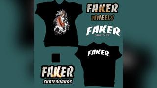 Faker Skateboards Pro series/ Faker Wheels
