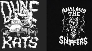 Amyl and the Sniffers and Dune Rats merch