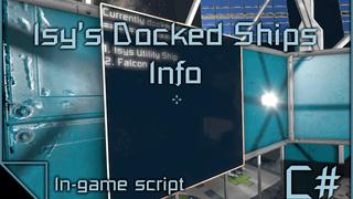 Isy's Docked Ships Info