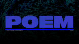 POEM Drop #1