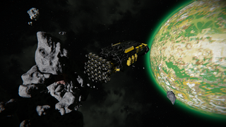 Asteroid Eater