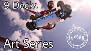 Rhythmic Skateboards Art Series