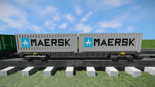 Freight Vagon container-4 V2