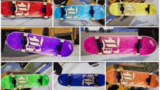 Board B Blank Series