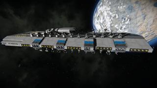 FDC Faragit Battlecruiser