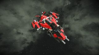 RWI - Saber Interplanetary Fighter