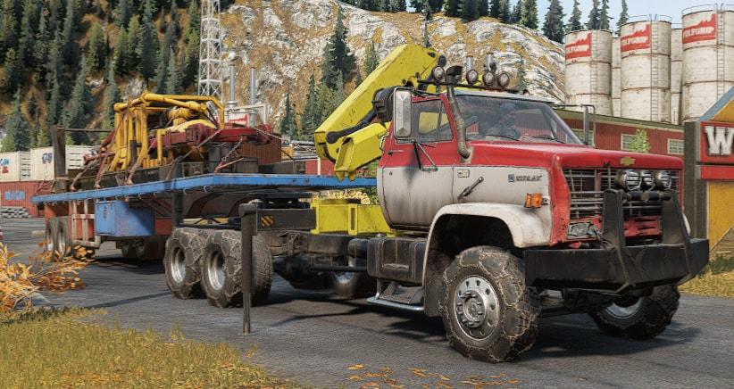 More Heavy Loads Mod For Snowrunner Mod Io