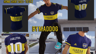 Boca Juniors Home Shirt 2021 - by MADDOG