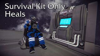 Survival Kit and Medical Room only Heals