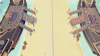 Medieval vs Pirates