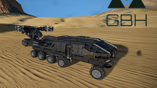 GBH Logistics Rover and Trailer