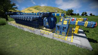 O2 Production & Storage Facility