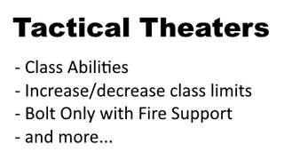 Tactical Theaters
