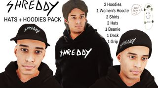 SHREDDY HATS AND HOODIES PACK