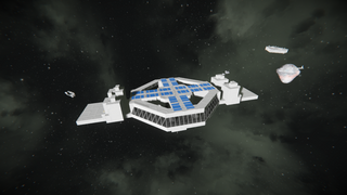 Deep space outpost