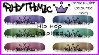 Rhythmic Skateboards Hip Hop Inspired Deck Pack