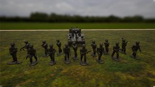 WWII US Army Miniatures