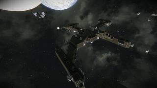 star trek discovery klingon D7 cruiser