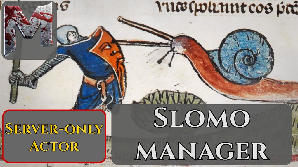 Broken Since Hotfix Slomo Manager Mod For Mordhau Mod Io