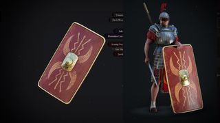 Roman Scutum Shield for Kite