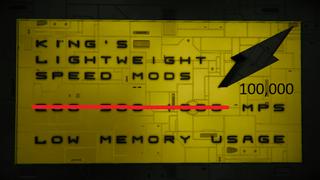 -KING's- 1000x Lightweight Speed Mod