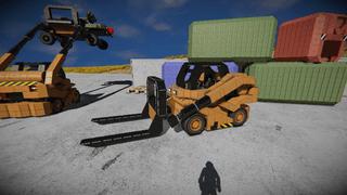 SKT S-2 Forklift HALO