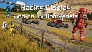 Racing Display - Button Panels