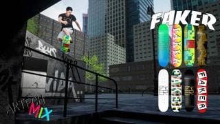 Faker Skateboards presents Artech Series