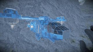 GreenCorp. Hawk Vtol (unarmed)