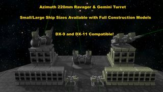 Azimuth 220mm Ravager & Gemini Turret