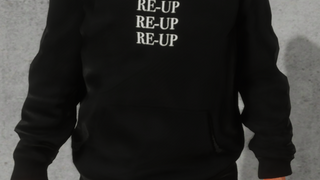 RE-UP Triple Logo Hoodie