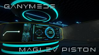 Ganymede MagLev Piston