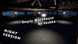 Empty Warehouse by s4shko (night)
