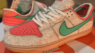 Nike SB Dunk Low Hemp Rasta
