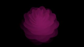 WebGL flower
