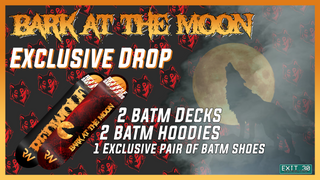 Red Wolf Skateboards - Bark At The Moon Video Drop