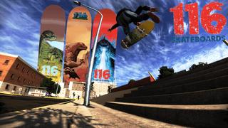 116 Skateboards Godzilla board pack