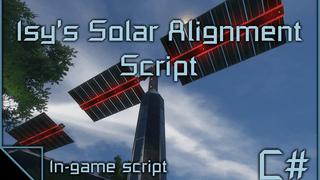 Isy's Solar Alignment Script