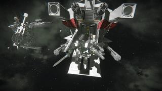 EVL Teknyx- Aurelios Combat Suit (Space) benchmark