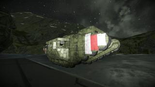 Land gun ship