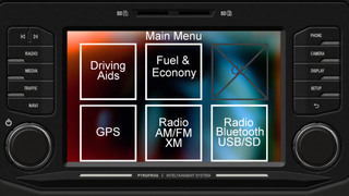 Infotainment System Pyrofrog