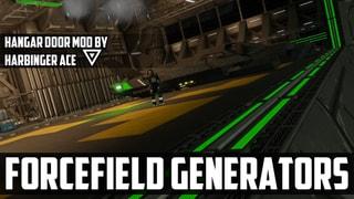 Forcefield Generators (Hangar Doors)